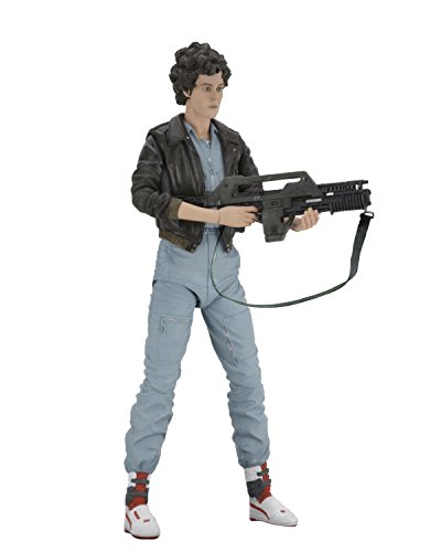 "Aliens - 7"" Scale Action Figure - Series 12 - Lt. Ripley In"