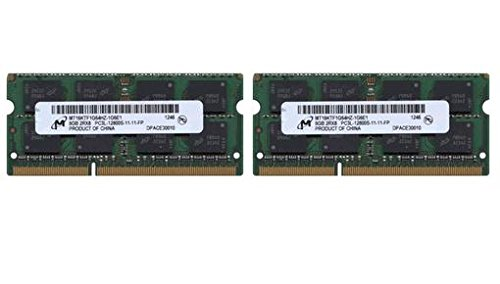 (16.0GB (8GBx2) PC3-12800 DDR3L 1600MHz SO-DIMM 204 Pin CL11 SO-DIMM Memory Upgrade Kit for 2012 MacBook Pro 13