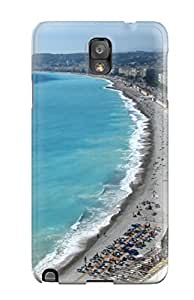 Hot Nice Coastal City First Grade Tpu Phone Case For Galaxy Note 3 Case Cover