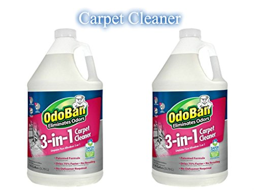 (OdoBan 1 Gal 3-in-1 Carpet Cleaner, 2-Pack)