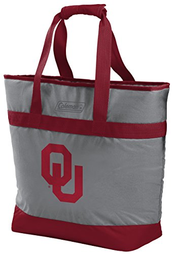 Rawlings NCAA Oklahoma Sooners Unisex 07883045111NCAA 30 Can Tote Cooler (All Team Options), Red, X-Large