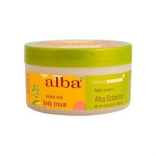 Alba Botanica Hawaiian Spa Treatments Kukui Nut Body Cream 6.5 fl. oz. 6.5fl. oz. 217329 by Frontier Natural Products - Kukui Body Hawaiian Cream Nut