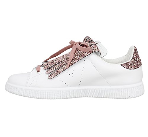 and pink Sneaker Mirror Fringes Victoria w47gBqHnE