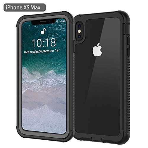 iPhone Xs Max Case, Besinpo Dustproof Shockproof Snowproof Full Body Protective Case Cover Built-in Screen Protector Compatible with iPhone Xs Max 6.5 inch 2018