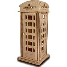 Phone Box QUAY Woodcraft Construction Kit FSC by Quay