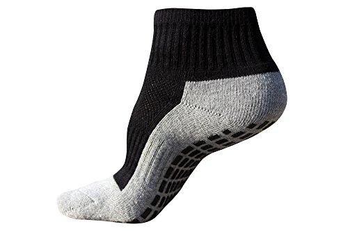 #1 Kids Non Slip or Skid Socks with THE BEST Grip Technology, Trampoline Jump Socks, Unisex Gripper Socks (1 pair)