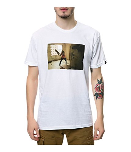 Emerica Men's HSU Made Nardo Photo Tee Small White (Made Emerica)
