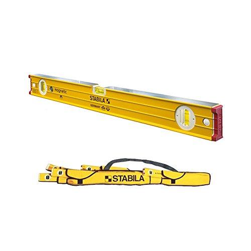 "Stabila 38624 24"" Heavy Duty Professional Magnetic Builders Level with 5-Pocket Case -  Stabila, Inc., 38624-STABILA15"