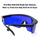 ZBSPM 2Pcs Golf Finder Caddy Glasses, Golf Ball