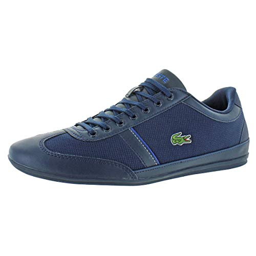 (Lacoste Mens Misano Sport 318 1 Fashion Sneaker (9.5 M US, Navy/Dark Blue))