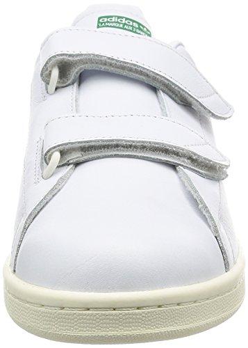 Adidas Uomo Veloce, Calzature Bianche / Calzature Bianche / Verdi Calzature Bianche / Calzature Bianche / Verdi