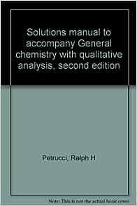 General chemistry petrucci