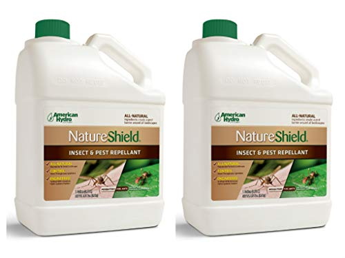 American Hydro Systems NS1-1 Nature Shield Insect and Pest Repellant, 1 Gallon, 2 Pack