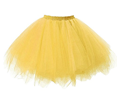 Tulle Facent Robe Sous Jupe Mini Tutu Dguisement Or Jupon Jupe Soires Courte Anniversaire Femme Princesse awYUwHCqZ