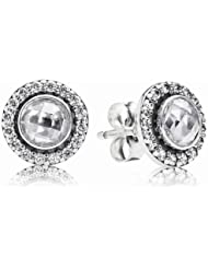 Pandora Earring Studs Brilliant Legacy, Clear Cubic Zirconia