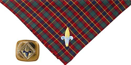 Webelos Scout Neckerchief and Slide