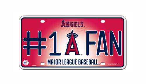 MLB Los Angeles Angels #1 Fan Metal Tag