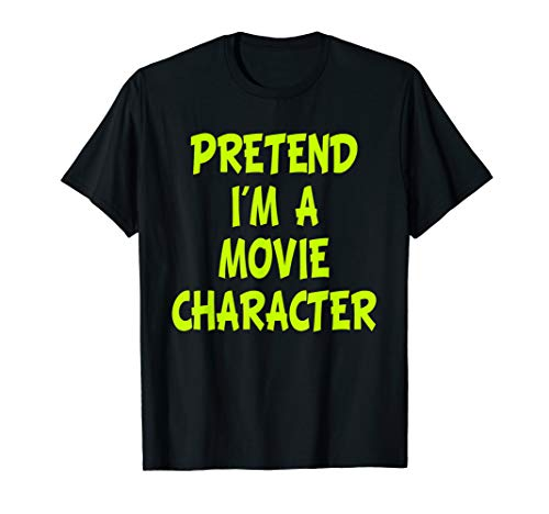 Costume Party Movie Characters (Pretend I'm a Movie Character Halloween Party Costume Gift)