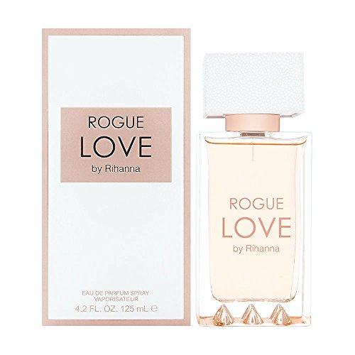 Rihanna Rogue Love Eau de Parfums for Women, 4.2 Ounce