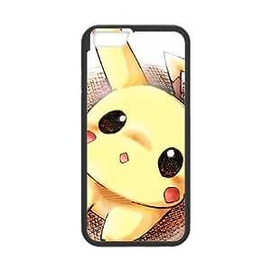 iPhone 6 4.7 Inch Cell Phone Case Black Pikachu Ptsr