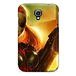 New Premium DaMMeke Dollface Twisted Metal Skin Case Cover Excellent Fitted For Galaxy S4
