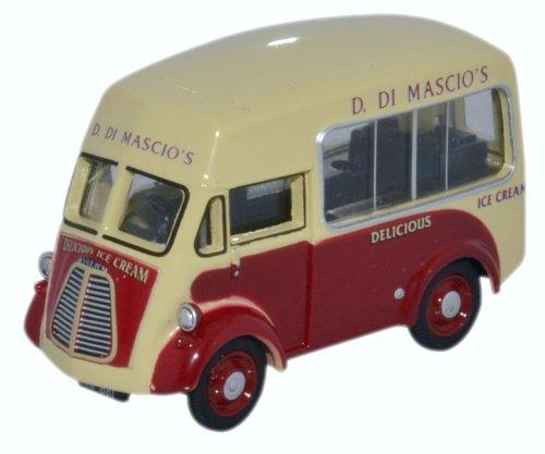 OXFORD DIECAST 76MJ011 Morris J Ice Cream Di Mascios