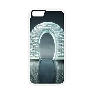 Cool Painting Building Customized Cover Case for Iphone 5C,custom phone case case-349059