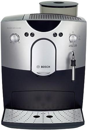 Bosch TCA5401, Plata/Negro, 260 x 450 x 340 mm - Máquina de café: Amazon.es: Hogar