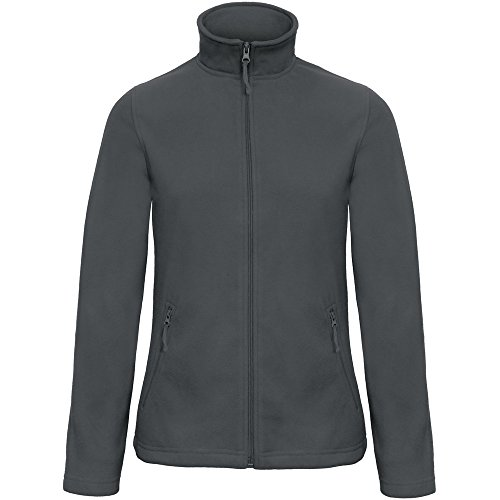 Microfleece Id Dark B Zip Jacket Grey Collection 501 Ladies amp;c Full XtwOqwzx