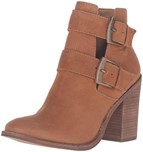 Women's Leather Cognac Trevur Steve Bootie Ankle Madden 1AnFn486