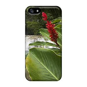 New Style AlikonAdama Hard Cases Covers For Iphone 5/5s- Lovely Waterfalls