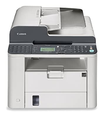 Canon FAXPHONE L190 Monochrome Laser Fax Machine Duplex Printer by Canon USA (Lasers)