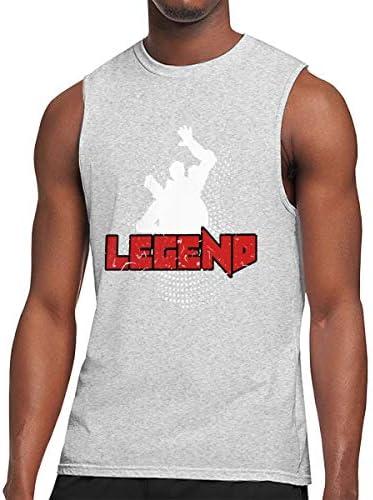 タンクトップ メンズ Legend ノースリーブ Tシャツ 吸汗通気 フィットネス カジュアル インナーベスト スポーツ
