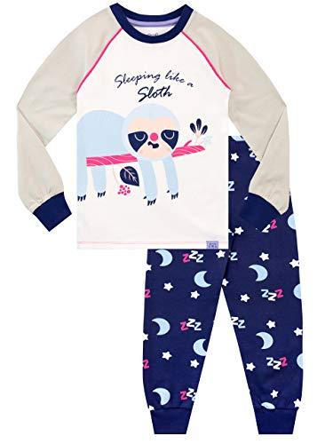 Harry Bear Meisjes Pyjamas Nauwsluitend Fit Luiaard