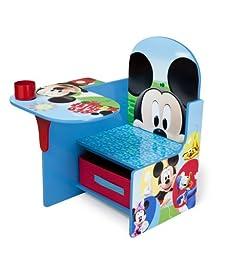 Delta Children Chair Desk With Storage Bin, Disney Mickey Mouse