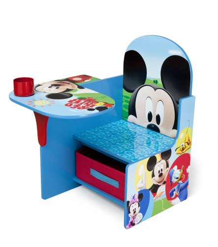 Delta Children Chair Desk With Storage Bin, Disney Mickey Mouse