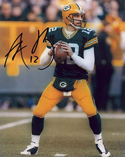 Aaron Rodgers signed REPRINT 8x10 inch photograph Reprinted from Original 02