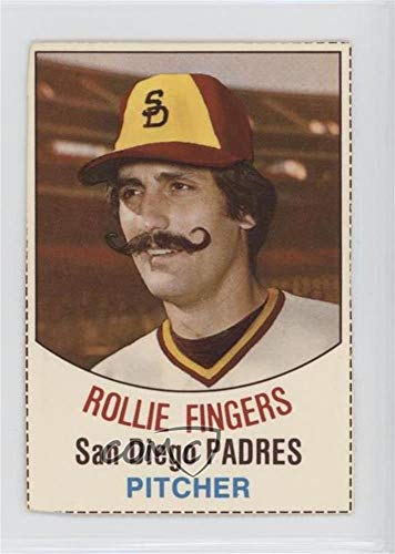 Used Rollie Fingers Baseball Card 1977 Hostess
