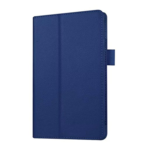 Photo - For Kindle accessories,Kshion Leather Case Stand Cover Shockproof Protective Case Cover [Anti Slip] for Amazon Kindle Fire HD 7 2015 Tablet (Dark Blue)
