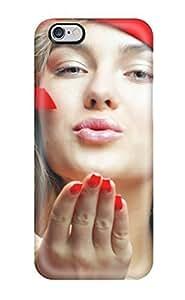 For Iphone 6 Plus Tpu Phone Case Cover(santa Babe)