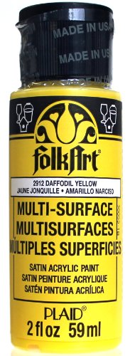 FolkArt Multi-Surface Paint in Yellow