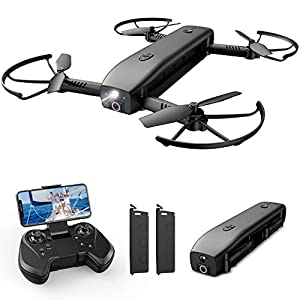 Flashandfocus.com 413WU5c3HgL._SS300_ Holy Stone HS161 Drone with Camera for Adults 1080P FHD, FPV Foldable Drones with Optical Flow Positioning, Gesture…