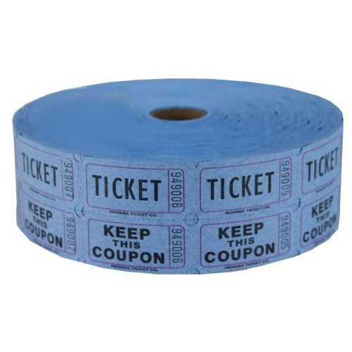 icket Roll 2000 (Tear Off Tickets)