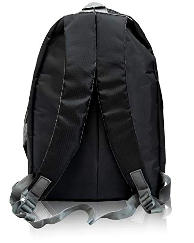 Kain 29 Ltrs Casual Waterproof Laptop Backpack, 15.6-Inch Laptop and Tablet for Travel, Business Casual, Office or College Students for Men, Women, Boys & Girls with Free RAIN Cover (17 Inch)(Black)