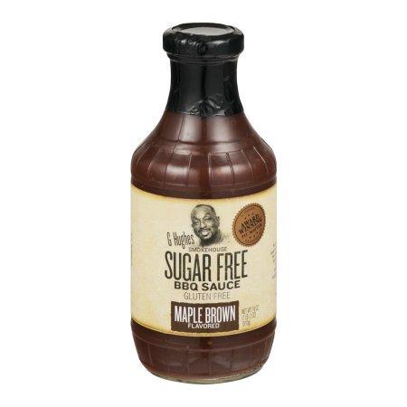 G Hughes Smokehouse Sugar Free Maple Brown Flavored BBQ Sauc