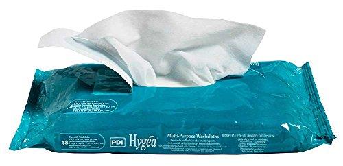 Hygea toallitas multiusos, reutilizables, 12 x 8 pulgadas, j22750 (funda de 12