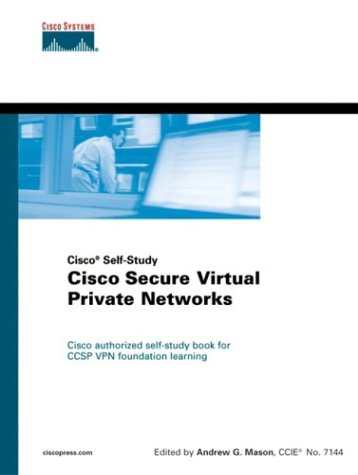 Download Cisco Secure Virtual Private Networks ebook