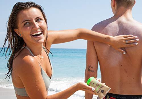 Raw Elements Certified Natural Sunscreen   Non-Nano Zinc Oxide, 95% Organic,...
