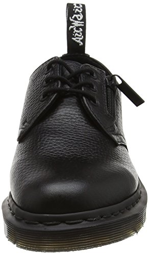 Sally Black Blank Women's Dr Aunt Martens Zip Derby 1461 Black W 7v5Ywq8