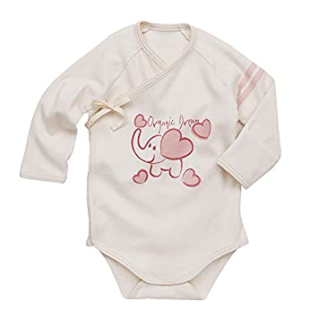 25a819de7 Image Unavailable. Image not available for. Color: Baby Bodysuit Onesie  Pink Elephant ...